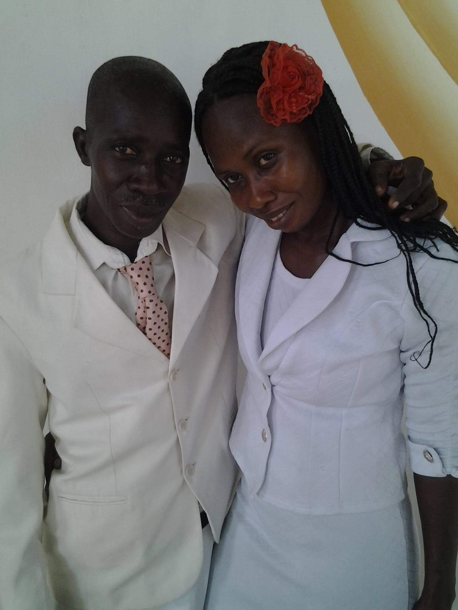 Pastor and Mrs. Cebien